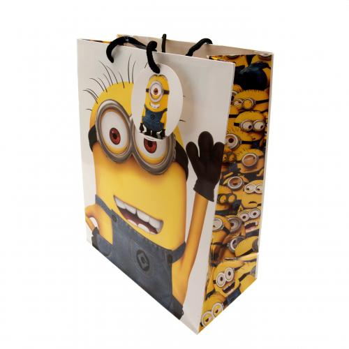Busta regalo Minions - Medium