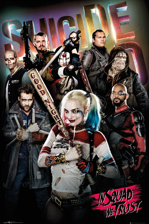 Poster Suicide Squad In Squad We Trust