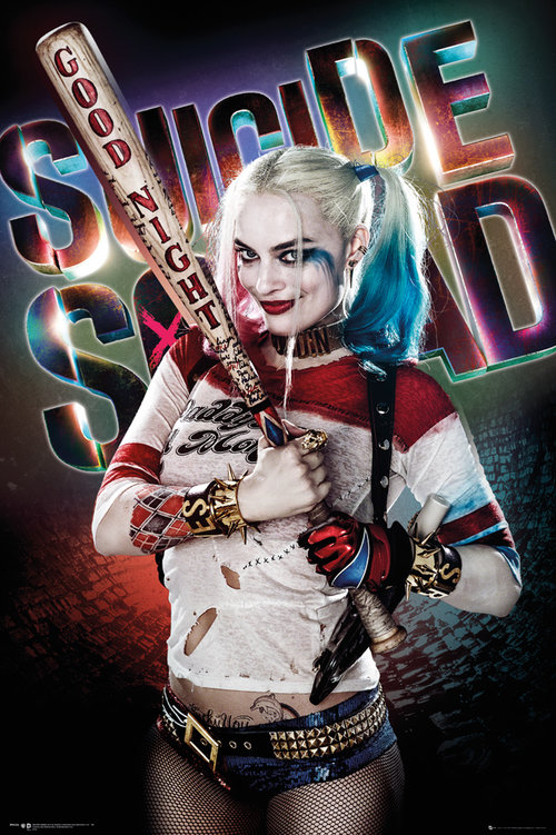 Poster Suicide Squad Harley Quinn Good Night