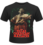 Texas Chainsaw Massacre (THE) - Leatherface 3 Green (T-SHIRT Unisex )