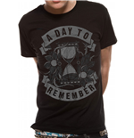 Day To Remember (A) - Hourglass (T-SHIRT Unisex )
