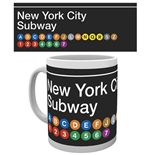 New York - Subway Map (Tazza)