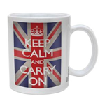Keep Calm - Union Jack (Tazza)