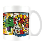 Marvel Retro - Heroes Panels (Tazza)