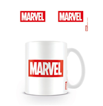 Marvel - Logo White (Tazza)