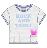 Trolls - Slogan Troll Hair (T-SHIRT Donna )