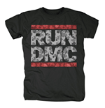 Run Dmc - Camo Logo Black (T-SHIRT Unisex )
