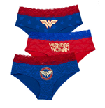 Pack Slip Wonder Woman da donna