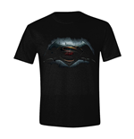 Batman V Superman - Logo Boys Black (T-SHIRT Bambino )