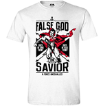 Batman V Superman - False God White (T-SHIRT Unisex )
