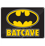 Batman - Batcave (Targa Metallica Piccola)