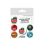 Big Bang Theory - Logo) (Pin Badge Pack)