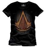 T-shirt Assassin's Creed Insignia Wood