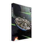 Star Wars - Millenium Falcon Notebook Con Luci E Suoni