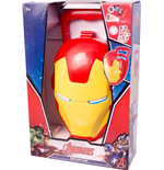 Iron Man - Valigetta Con Projector, Badge Con Luce E Stickers