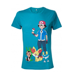 Pokemon - Green With Print (T-SHIRT Unisex )