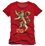 T-shirt Il trono di Spade (Game of Thrones) Lannister Hear Me Roar