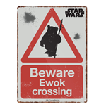 Star Wars - Ewok (Targa Metallica Piccola)