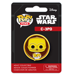 Funko Pop! Pins: - Star Wars - C-3po (vfig)