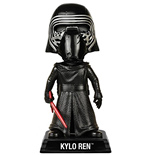 Funko - Star Wars - E7 Tfa - Kylo Ren (unhooded) (Wacky Wobbler)