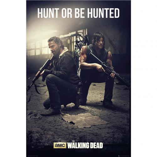 Poster The Walking Dead Hunt 219
