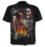 Death RE-RIPPED - T-SHIRT Black (T-SHIRT Unisex )