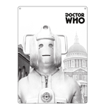 Doctor Who - Greyscale Cyberman (Targa Metallica)