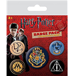 Harry Potter - Hogwarts (Pin Badge Pack)