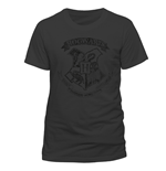 Harry Potter - Distressed Hogwarts (T-SHIRT Unisex )
