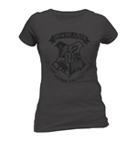 Harry Potter - Distressed Hogwarts (T-SHIRT Donna )