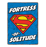 Superman - Solitude (Targa Metallica Piccola)