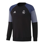 Felpa Real Madrid 2016-2017 (Nero)
