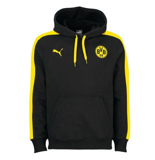 Felpa Borussia Dortmund 2016-2017 (Nero)
