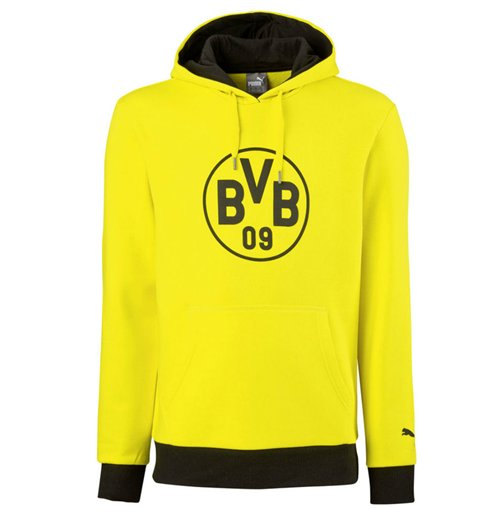 Felpa Borussia Dortmund 2016-2017 (Giallo)