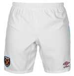 Pantaloncini Short West Ham United 2016-2017 Home (Bianco)