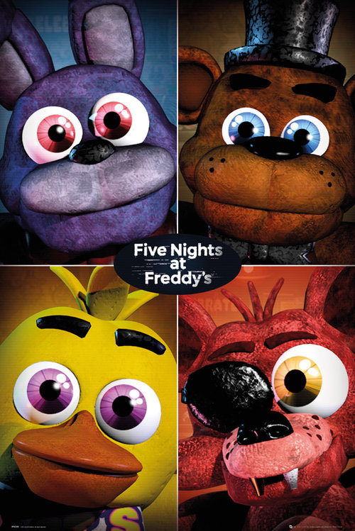 Poster Five Nights at Freddy's 227276