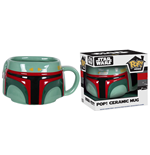Funko Pop! Home: - Star Wars - Boba Fett Ceramic Mug (vfig)