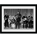 Johnny Cash - On Stage (Foto In Cornice 30x40cm)