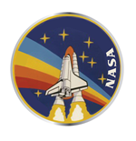 Nasa - Sts-27 (Badge Smaltato)