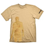 T-shirt Uncharted 4: A Thief's End Nathan Drake Map - S