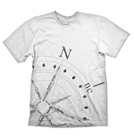 T-shirt Uncharted 4: A Thief's End Compass - L