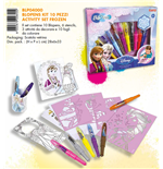 Blo Pens - Frozen - Activity Kit - 10 Penne + 6 Stencil + 3 Attivita'