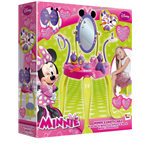 Minnie - Set Specchiera Con Sgabello E Accessori
