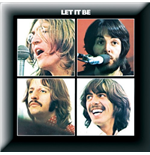 Beatles (The) - Let It Be Album (Spilla Badge)