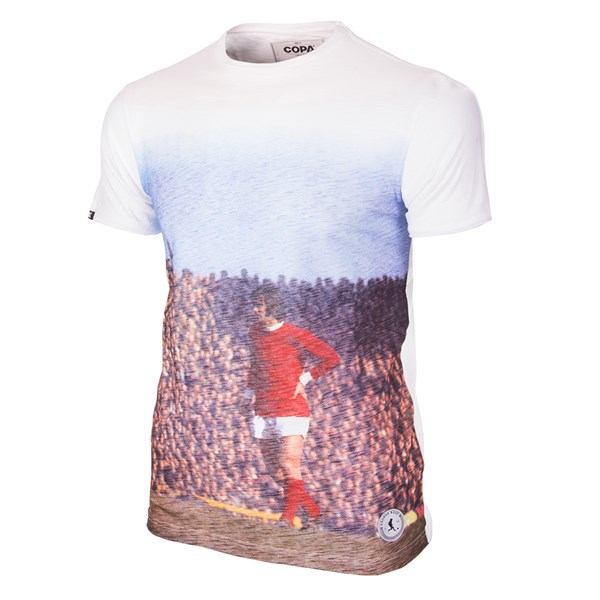 T-shirt George Best Manchester All Over