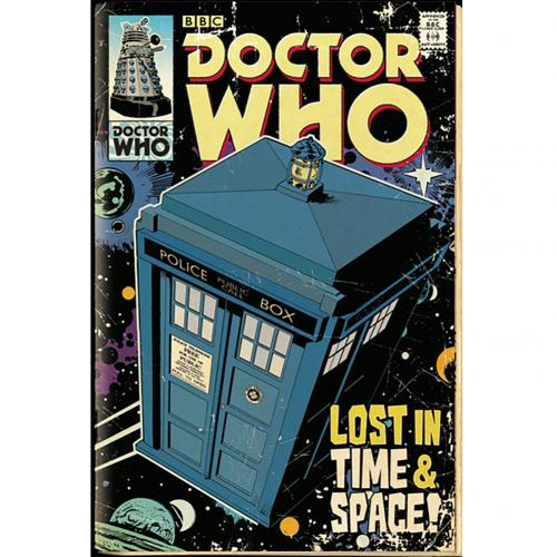 Poster Doctor Who Tardis 222