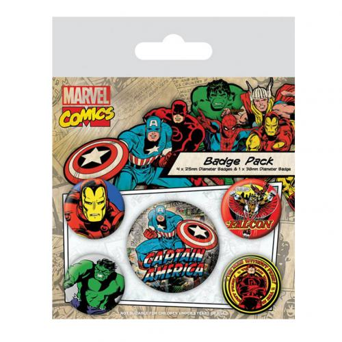 Set Spille Marvel Superheroes