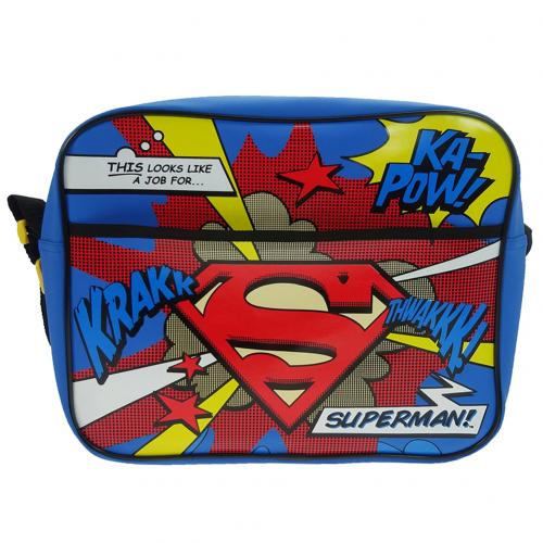 Borsa Tracolla Messenger Superman 229045