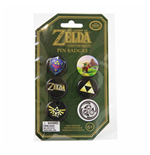 Zelda - Pin Badges (Set 6 Spille)