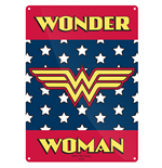 Wonder Woman - Logo (Targa Metallica Piccola)
